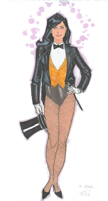 Zatanna by Phil Noto Comic Art