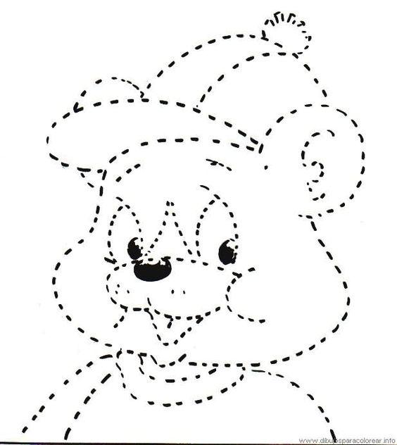 Actividades para niños preescolar, primaria e inicial. Fichas con ejercicios de grafomotricidad para niños de preescolar y primaria. Unir puntos y pintar. Grafomotricidad Unir puntos y pintar. 37