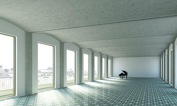 ARCHCODE - VISUALISIERUNGEN, München. Visualisierung-Maison D'or-Kolevichin