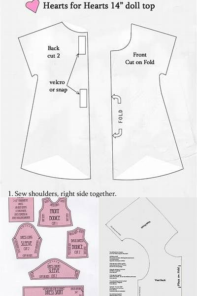 Pin On Free Doll Cloths Patterns