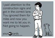 Hahahaha YES! covers merge signs too