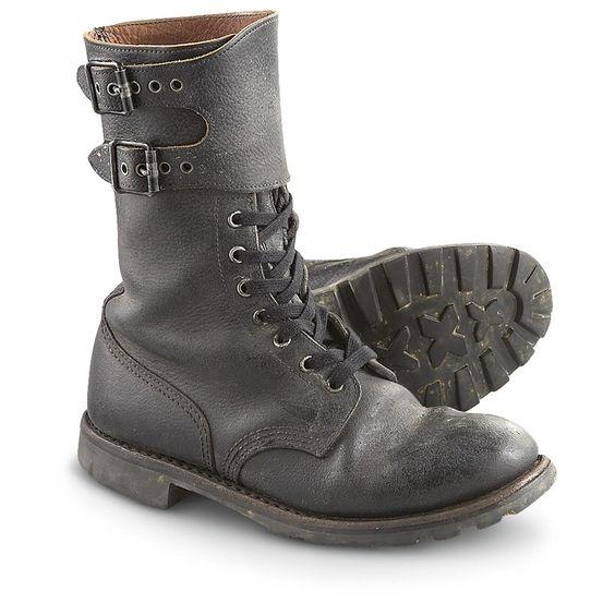 Bottes de combat de l'armée française / French Army combat boots ...