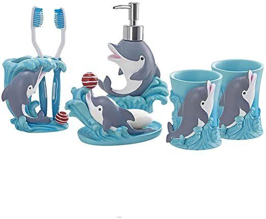 Xinxinchaoshi Bathroom Accessory Sets, Five Piece Bathroom Rug Sets