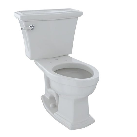 Toto Clayton Colonial White Elongated Chair Height 2 Piece Toilet 12 In Rough In Size Cst784sf 11