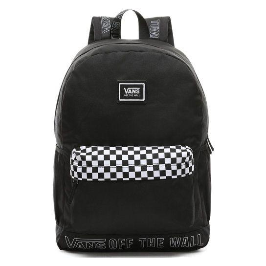 Sporty Realm Plus Backpack | Black | Vans | Sac a dos vans, Sac ...
