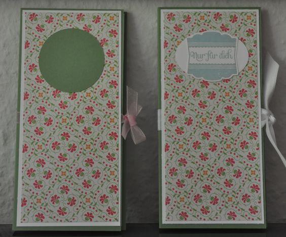 Versteckter Notizblock in zwei Varianten ... made by Steffi von Scrapbook Paradies http://scrapbookparadies.blogspot.de/