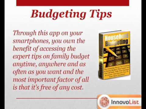 Household Budgeting app is a new way of money management It lists - budget spreadsheet app