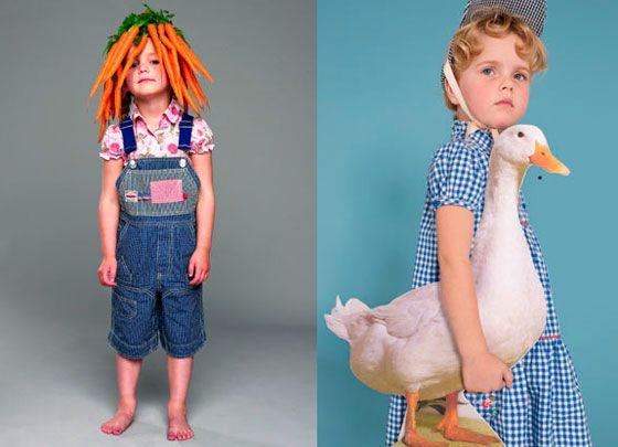 Oilily. Too quirky! Love the carrot top kid.