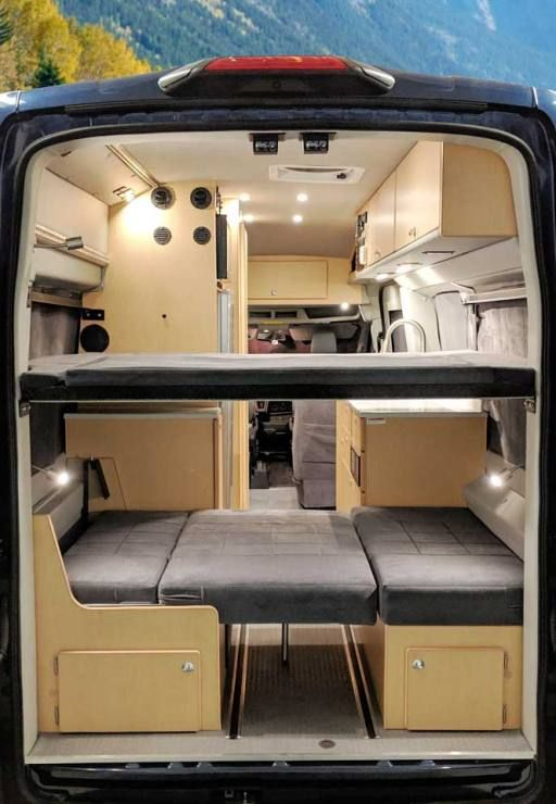 67 Ford Transit Long Body Van Conversion Family Travel Adventure In 2020 Ford Transit Van Conversion Family Adventure Travel