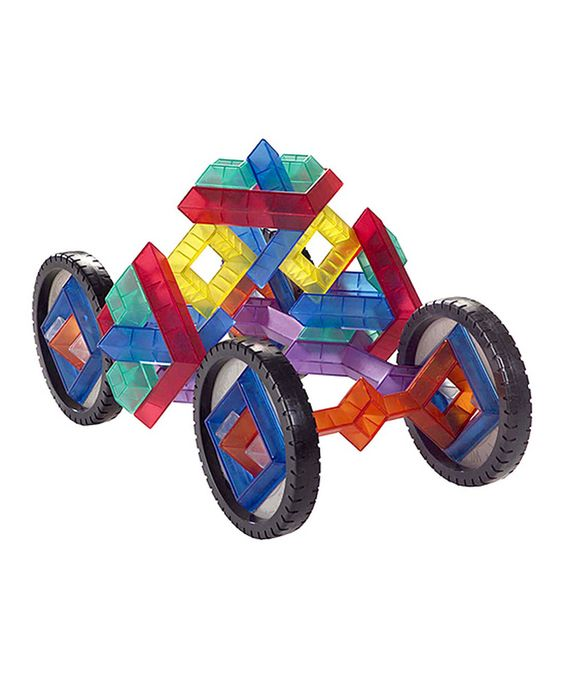 Another great find on #zulily! WEDGiTS On Wheels Building Set by WEDGiTS #zulilyfinds