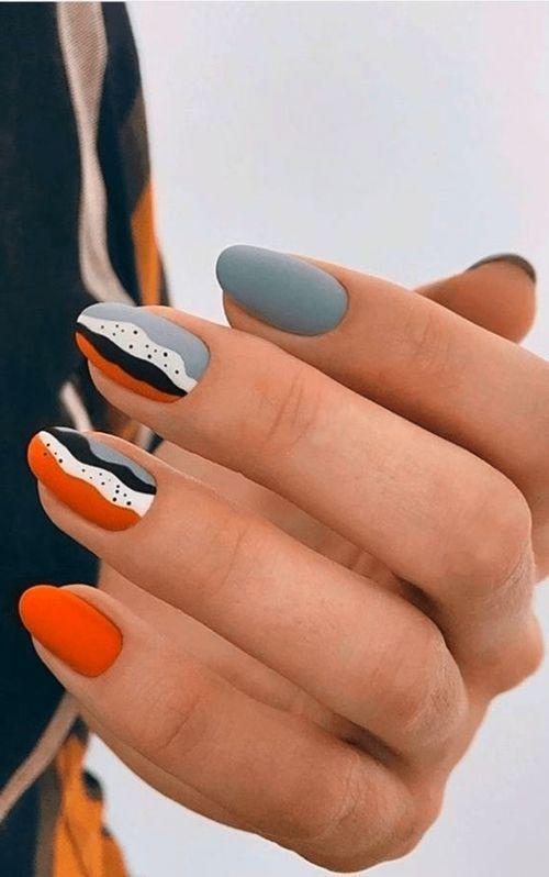 Nail Art Designs Autumn Nails In 2020 Minimalist Nails Funky Nails Fall Nail Designs