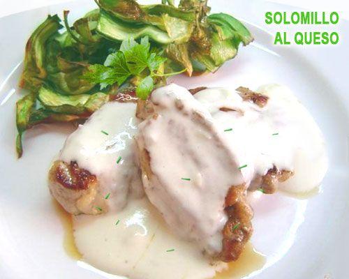 Solomillo De Cerdo Con Salsa De Roquefort Recetas Para