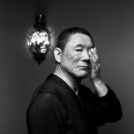 Portrait of Takeshi Kitano by Nicolas Guerin via Free York: