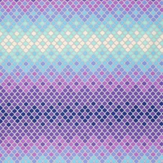 EDEN- Mosaic in Glacier by Tula Pink , continuous yardage available  #TulaPink