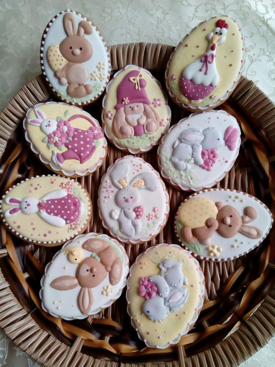 Easter cookies by Svetlana