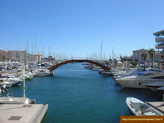 Frejus, France -walked across this bridge while visiting my love's stomping grounds. really great little town.