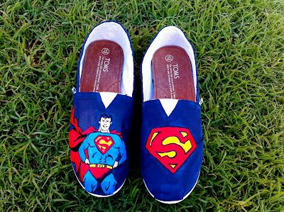 Superman painting a pair #kthanx