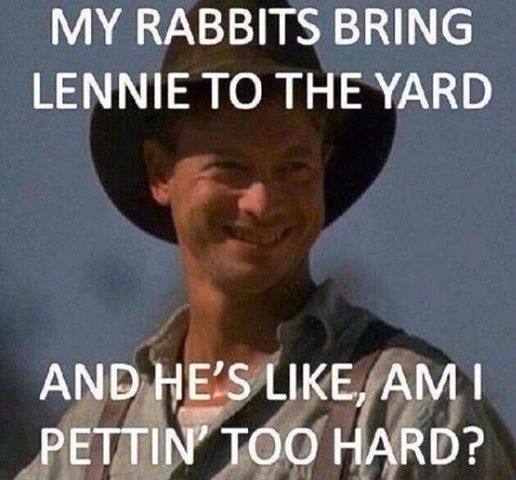 Mice and men lenny