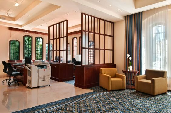Hôtel Hilton Molino Stucky Venice, Italie - Centre d'affaires
