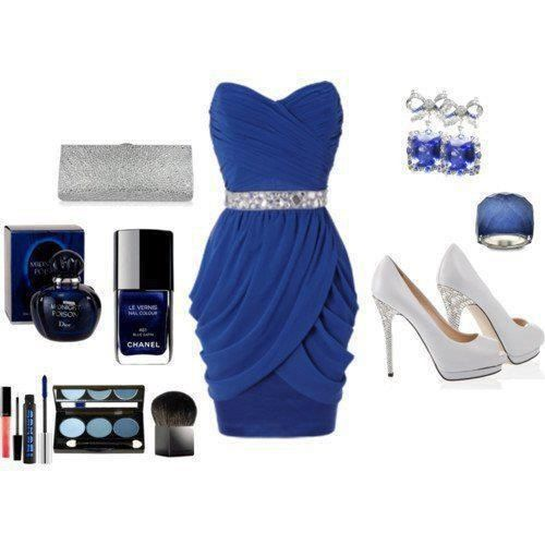 royal blue dress accessories - Dress Yp