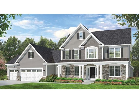 Eplans colonial house plan space where it counts 2523 for Www eplans com