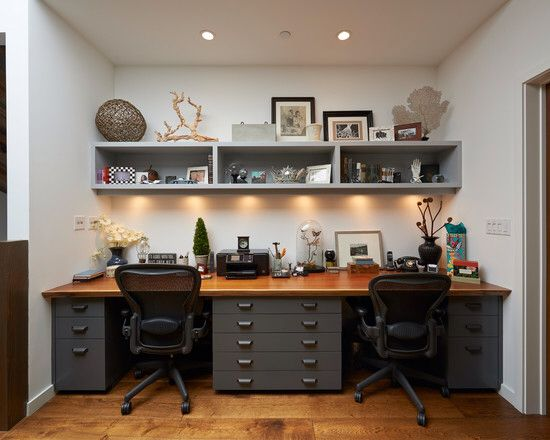 His And Her Office All In A Day S Work Pinterest Guest Rooms Nook Room Ideas