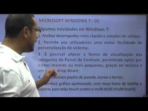 Software e MS Windows 7 - Seven AULA 01 (MAIO/2014)