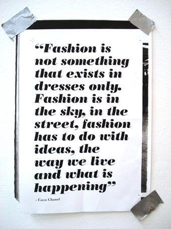 Mode / Fashion #impressionen #zitate
