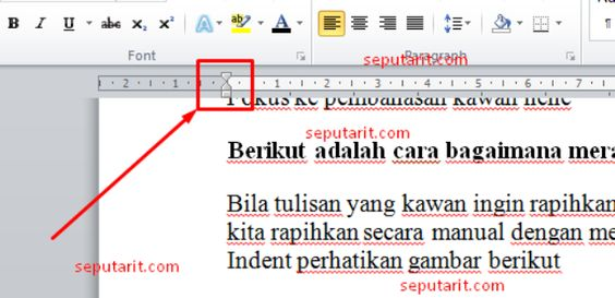 CARA MUDAH MERAPIKAN TULISAN DI MICROSOFT WORD Tutorial - ms word user manual