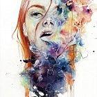 Portrait Watercolor Paintings By agnes-cecile (Silvia Pelissero) - 16 | Designalmic