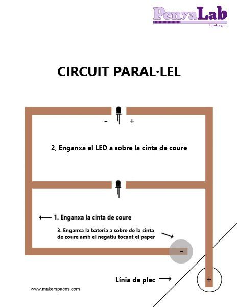 Circuits en paper – Circuit paral·lel