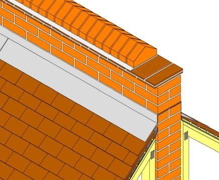 Parapet Wall Coping Tile Details Pinterest