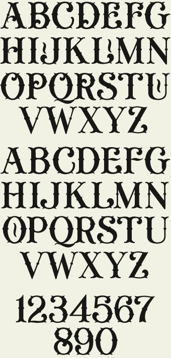 Letterhead Fonts Lhf General Store Decorative Fonts