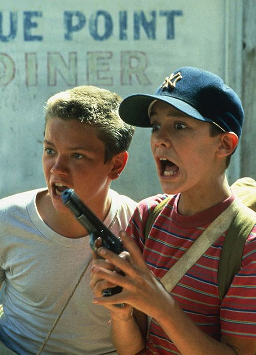 """River Phoenix, Wil Wheaton in """"Stand by Me""""  (1986)"""
