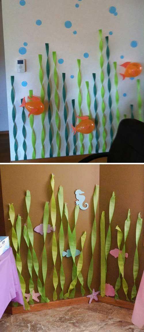 Stunning Under The Sea Decorating Ideas Kids Would Love Fiestas De Sirenita Decoracion De Piratas Cumpleanos De Sirena
