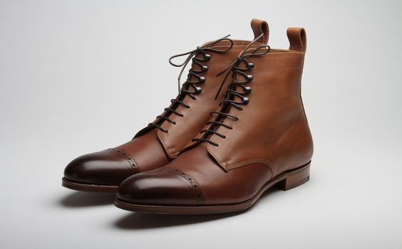 Grenson Derby Toecap boot#