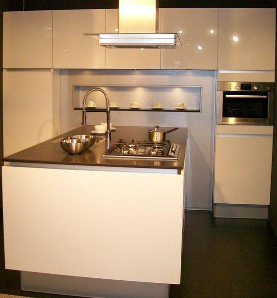 Voorbeelden Schiereiland Keuken : schiereiland – keuken Pinterest