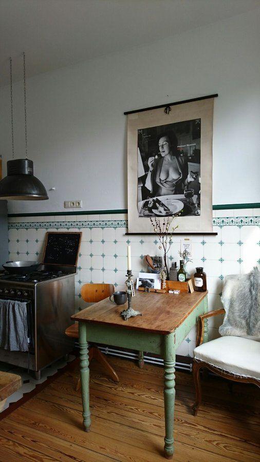Frühstück mit June Newton | Foto von Mitglied KatinkaKatze #esszimmer #diningroom #solebich #deko #decoration #frühling #spring #küche #frühling