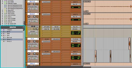 grupos edicion, 5 herramientas de pro tools para produccion musical, http://promocionmusical.es/produccion/: