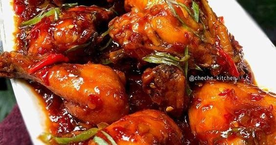 Resep Ayam Kecap Pedas Manis Ayam Kecap Pedas Manis By Cheche Kitchen Bahan Bahan 1 Ekor Ayam Maksimal 2 Kg 1 Bh Resep Ayam Resep Masakan Resep