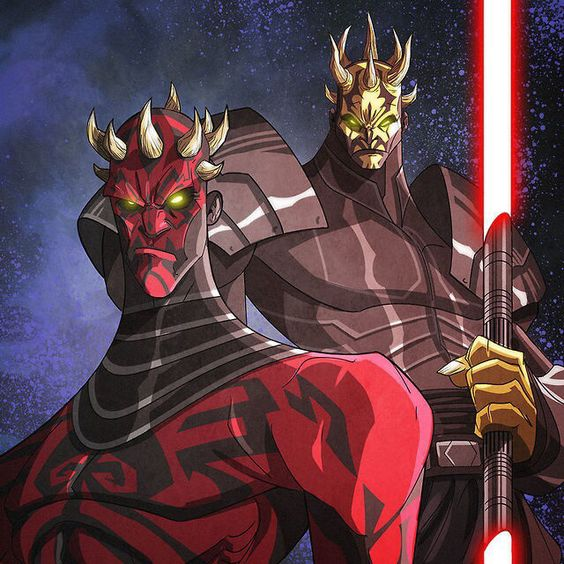 Darth Maul and his brother Savage