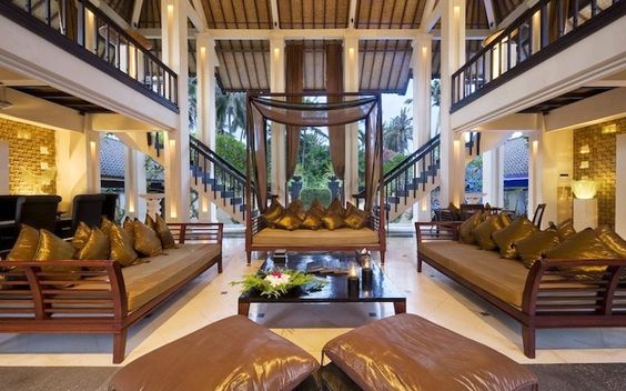 The Ylang Ylang Villa - a 6 bedroom private villa in Gianyar nestled between coconut trees and the deserted Indian Ocean beach. #MinistryofVillas