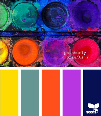 painterly brights