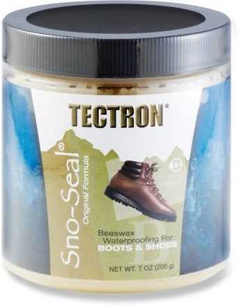 Tectron Sno-Seal Waterproofing. A must have!