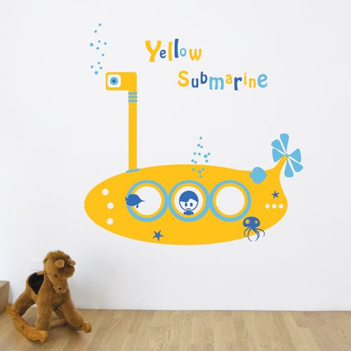 we all live in a yellow submarine <3
