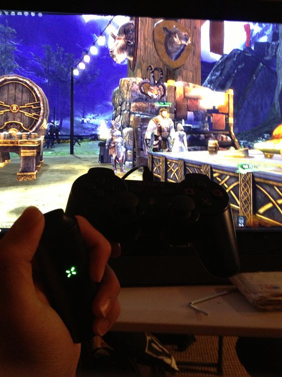 Pax, ps3 controller, and guild wars2