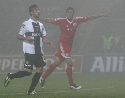 stephonay:  3a Jornada: Benfica vs NacionalCardozo with the first Benfica goal.   Tenham cuidado, ele é perigoso… Ele é o Óscar Tacuara Cardozo…