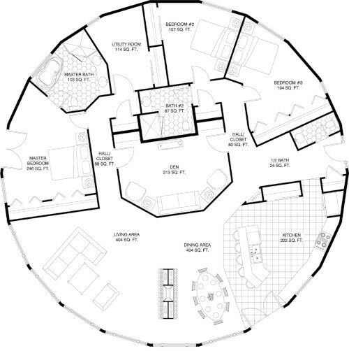 380 sq meters 4090 sq feet House plan