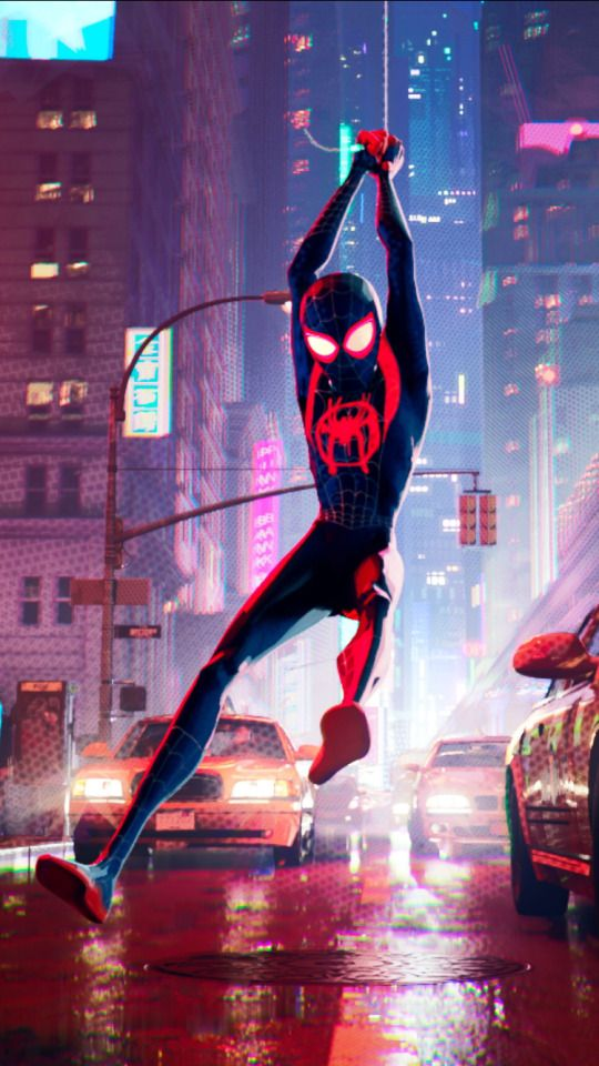 Into The Spider Verse Iphone Wallpaper Ipcwallpapers In 2020 Marvel Spiderman Miles Morales Spiderman Spiderman