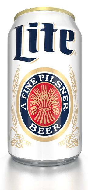 Miller Lite retro relaunch. #packaging